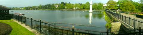 Roath Park Lake, Cardiff